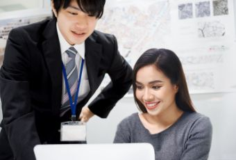 グローバルアイは、留学生の就職活動を在学期間から応援しています。